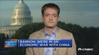 Steve Bannon views this century as trade war between US and China, says Axios editor-in-chief