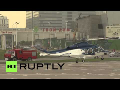 Russia: HeliRussia chops up the Moscow skyline