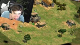 Coaching le Twitch Game sur AoE - Best of Sardoche