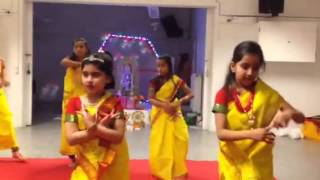 Saraswati vandana group dance by kids
