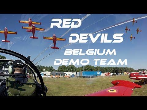 4K UHD  RED DEVILS  Belgium Aerobatic Team