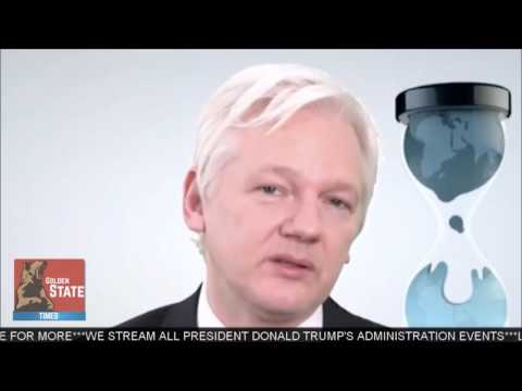 Julian Assange -WikiLeaks LIVE Presse Konferenz am 9.3.2017 CIA-Statement - Komplett