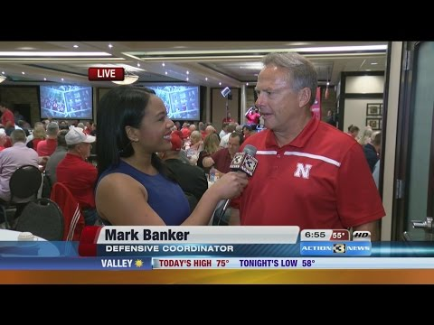 Mark Banker at Big Red Today Breakfast