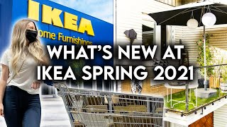 IKEA SHOP WITH ME SPRING 2021 | NEW PRODUCTS + DECOR