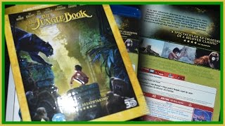 The Jungle Book 2016 3D (UK) Blu-ray Unboxing