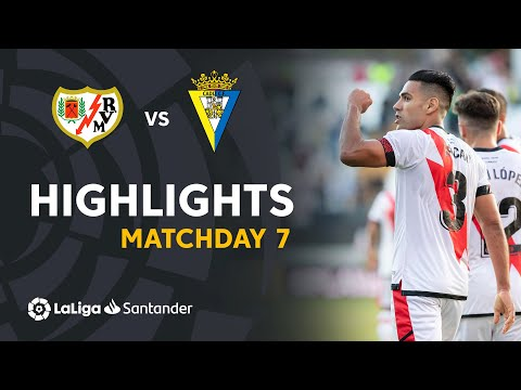 Vallecano Cadiz Goals And Highlights
