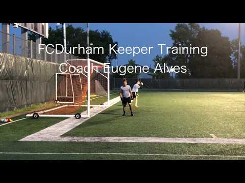 FC Durham Academy Goal Keeper Training - Aug.18, 2018