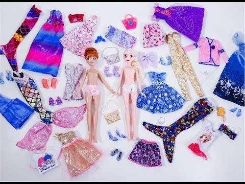 My Store Bought Cheap Clothes Collection For  Dolls