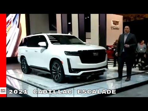 2021 Cadillac Escalade Canadian Spec Reveal