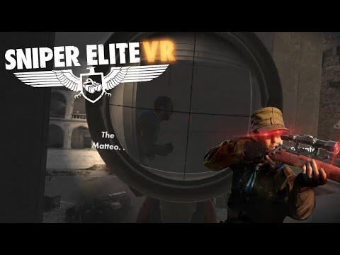 Matteo is my only target... - Sniper Elite VR - Part 5 |