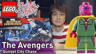 LEGO Marvel: The Avengers Quinjet City Chase - Brickworm