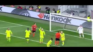 шахтёр 3 - 1 Андерлехт (Лига Европы, Обзор матча 10.03.2016)