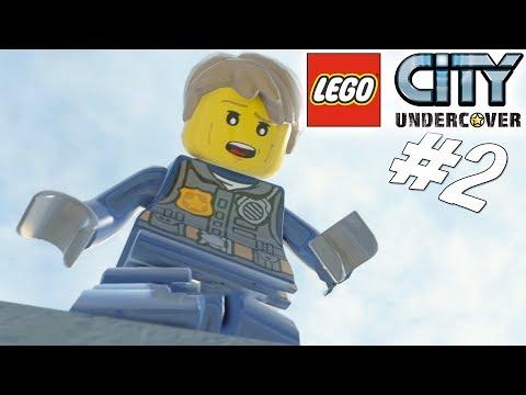 RØVERNE PÅ SKYSKRABEREN! - LEGO City Undercover Dansk Ep 2 [PS4 Pro]