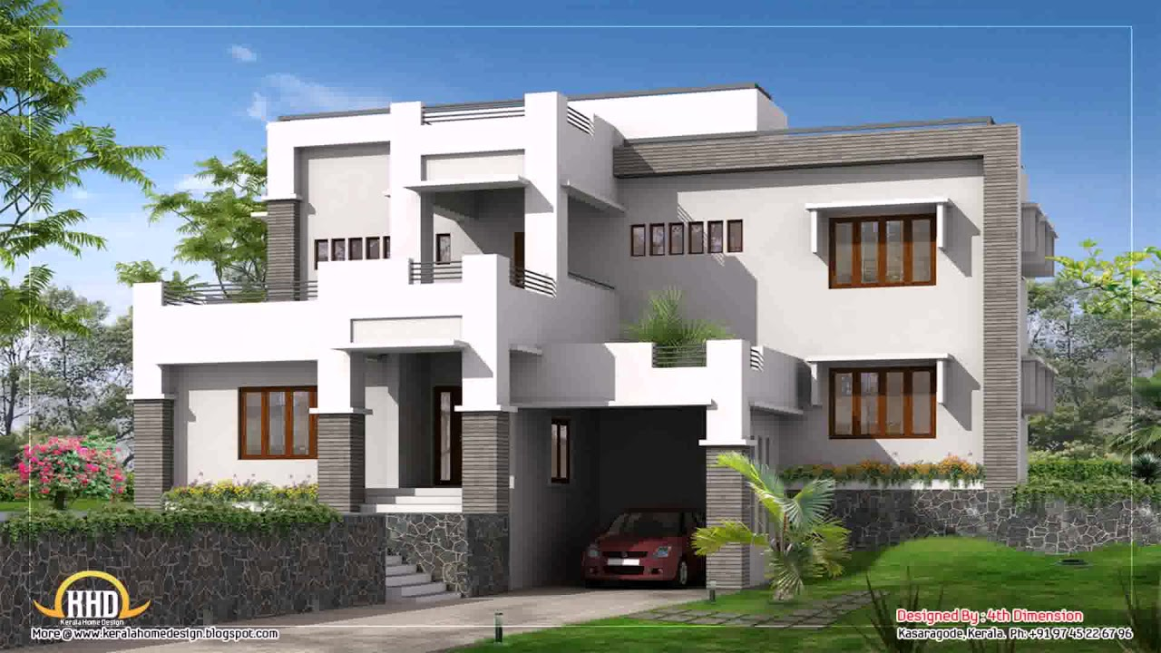 House parapet design in kerala youtube for Homes plus designers builders inc