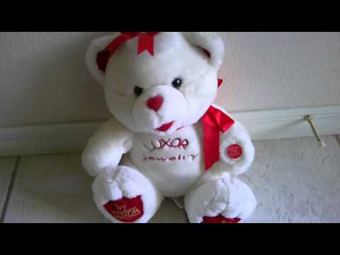 Polar Bear Valentine's Day Pal Musical Plush Stuffed Animal Glows Red Cheeks