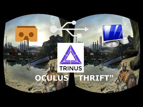 How to setup Trinus VR with Tridef 3D