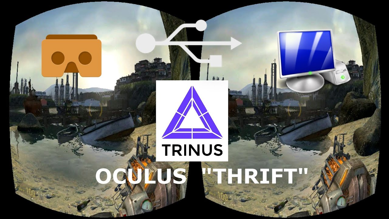how to setup trinus vr with tridef 3d youtube