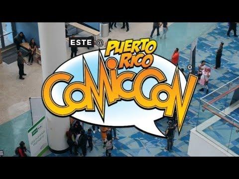this is Puerto Rico Comic Con.