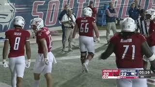 Jalen Tolbert Game Winning Touchdown For South Alabama