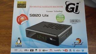 обзор ресивера  GI S-8120 Lite Galaxy Innovations