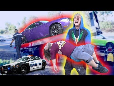 EVAN'S HIGHWAY CAR ACCIDENT! **in my car**