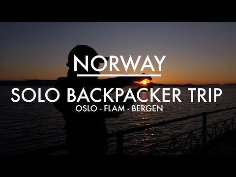 NORWAY | SOLO BACKPACKING TRIP (OSLO, FLAM, BERGEN) | GoPro Hero 3+ and LG G4 1080 HD