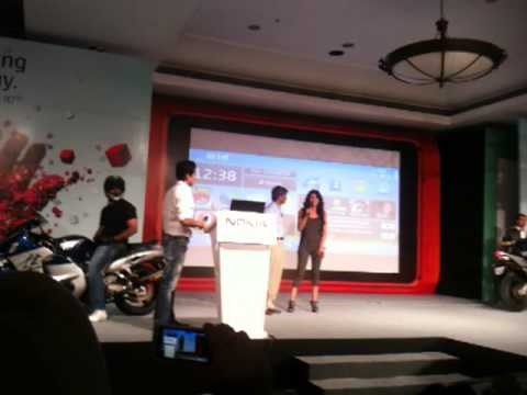 Priyanka Chopra at the Nokia N8 India Launch