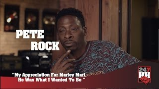 Pete Rock - My Appreciation For Marley Marl, He Was What I Wanted To Be (247HH Exclusive)