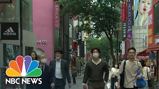 New Coronavirus Outbreak As South Korea Reopens, Cases Surge In Brazil | NBC Nightly News