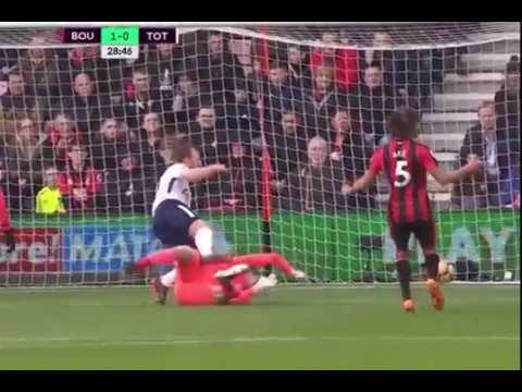 Replay of Harry Kane ankle injury