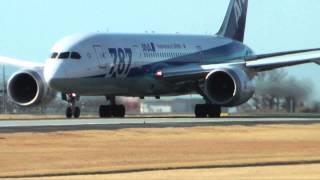 熊本空港 ALL NIPPON AIRWAYS BOEING787-8 JA818A