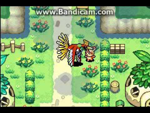 Pokemon Mystery Dungeon: Spinda Meets Ho-oh
