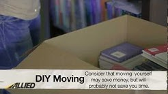 DIY Moving vs. Hiring Professional Movers | Moving Tips from Allied