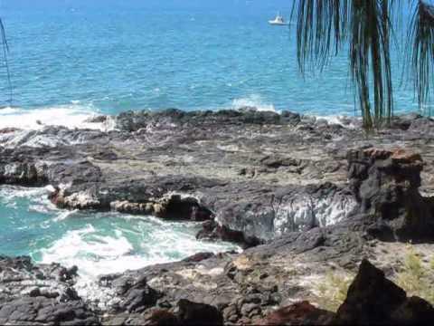 Drive to Spouting Horn Kauai Hawaii