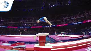 Jasmina HNILICOVA (CZE) - 2018 Artistic Gymnastics Europeans, junior qualification vault