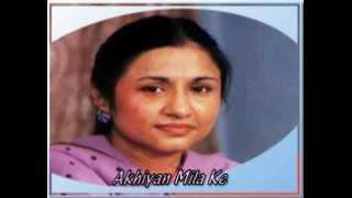 Nayyara Noor - Akhiyan Mila Ke.flv