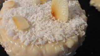 recette antillaise : blanc manger coco