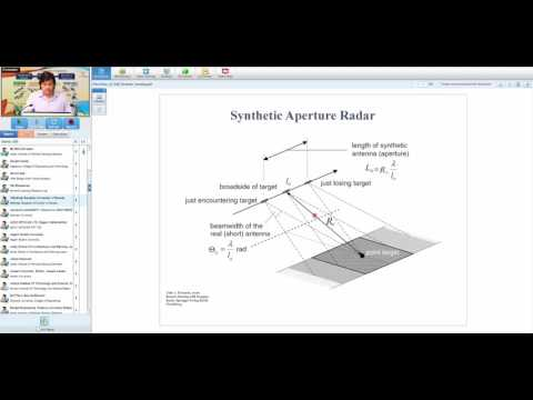 10 04 2017 Overview of SAR Remote Sensing