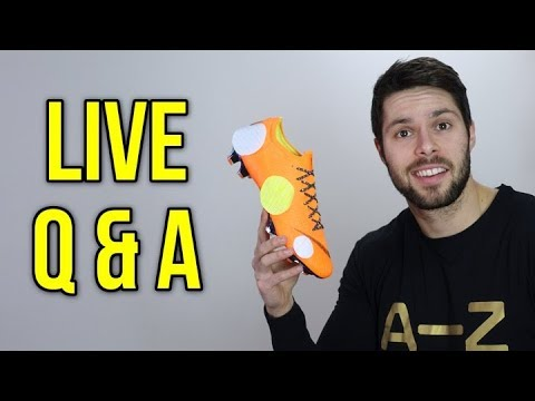 WHAT ARE THE WORST SOCCER CLEATS I'VE EVER WORN? - SR4U Live Q & A!