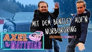 Schlittenfahrt auf der Nordschleife - Unser Dienstwagen II | Axel & Matthias