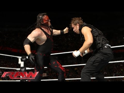 Kane vs. Dean Ambrose - U.S. Championship Match: Raw, June 17, 2013