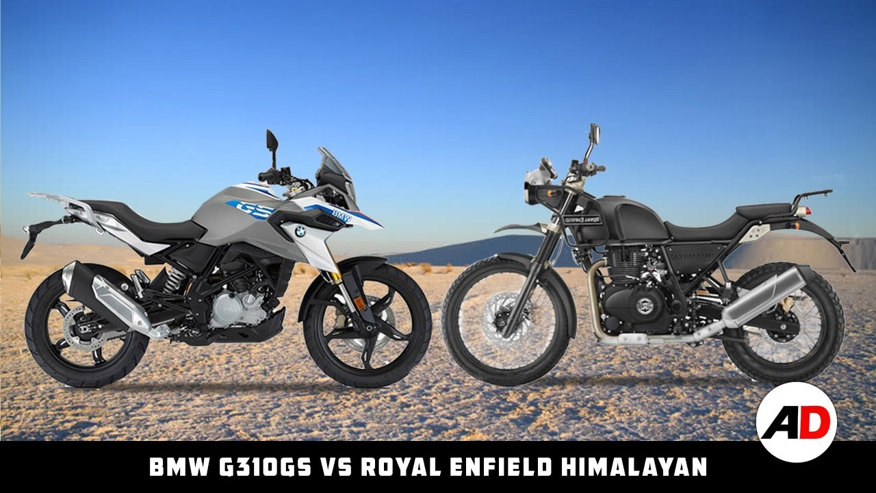 Off Road Bmw G310gs Vs Royal Enfield Himalayan Auto Drive Youtube