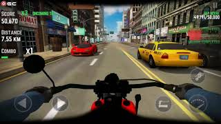 Highway Real Traffic Bike Racer - Motor Racing Games - Android Gameplay FHD #2