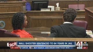 Independence mall shooter gets 64 years