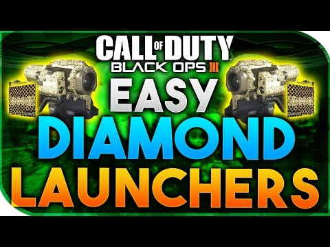 Black Ops 3 | EASY DIAMOND CAMO LAUNCHERS - HOW TO GET GOLD/DIAMOND LAUNCHERS FAST (BO3 DIAMOND)
