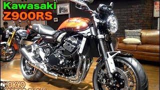 各部詳細 Kawasaki Z900RS. Bale off and details.ベールオフ&ディテール。Tokyo Motor Show2017 レポ thumbnail