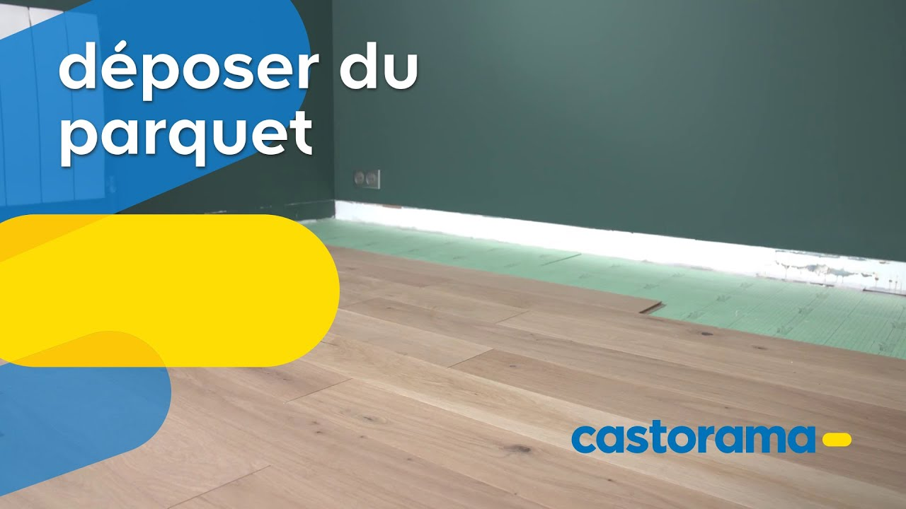 Comment Deposer Du Parquet Castorama Youtube
