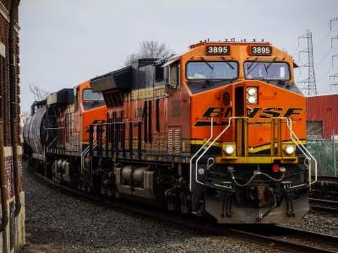 Road Freights, Locals, and Transit Trains in Bound Brook NJ