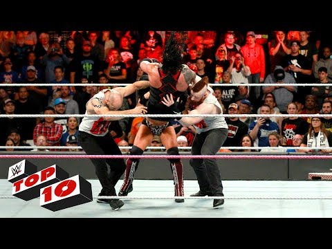 Top 10 Raw moments: WWE Top 10, October 2, 2017