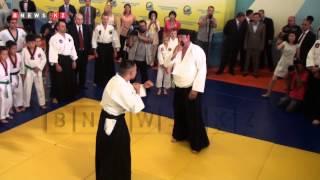 Стивен Сигал провел мастер-класс по боевым искусствам для детей столицы